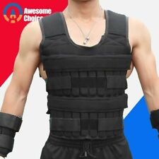 Loading Weight Vest Boxing Training Workout Fitness Gym Equipment Jacket Sand