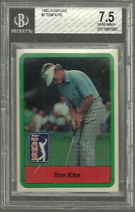 1982 Donruss Golf Tom Kite #1 BGS 7.5  Near Mint PGA HOF