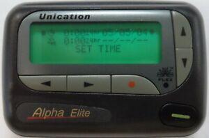 Unication 4 line Alpha Elite Pager VHF FLex 153.6350