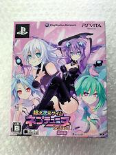"Neptune Choujigen Game Limited ""Good Condition"" Sony PS Vita Region Free Japan"