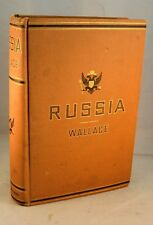 RUSSIA 1877 1st Edition Travels Moscow St Petersburg Tartars Novgorod Crimea