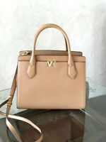 NWT Michael Kors Montgomery Leather Satchel Handbag Brown