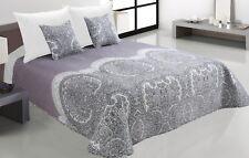Zweiseitige Tagesdecke Bettüberwurf Steppdecke 3Tlg.180x220 Tavira 003