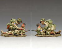 KING & COUNTRY D DAY DD287-1 U.S 82ND AIRBORNE BLAST INJURY MIB