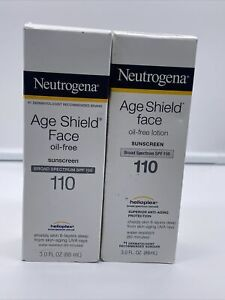 Neutrogena Age Shield Face Oil-Free/lotion  Sunscreen SPF 110 3 fl. oz. 22/23