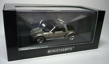 SMART ROADSTER COUPE GREY METALLIC 2003 1:43 MINICHAMPS