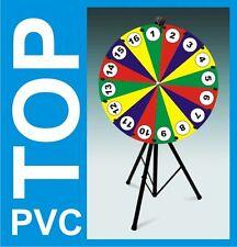 Glücksrad Werbung Tombola -52% Design 4 YOU 80cm PVC Wetterfest Wheel of Fortune