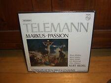 TELEMANN-MARKUS-PASSION-KURT REDELL-PHILIPS 835 229/30 AY BOX ET SEALEDNEW