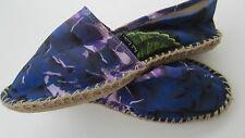 Paul Smith Espadrilles EU37 UK4 Blue Floral Hobo