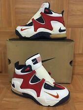 RARE🔥 Nike Air Rupt 96 Olympics USA Red White Blue Korea Sz 9 131033-162 Womens