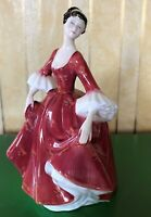 ROYAL DOULTON LADY STEPHANIE MODEL No. HN 2811 PERFECT RED DRESS PERFECT
