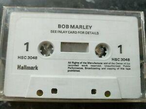 Bob Marley Audio Cassette No Inlay Card.  Hallmark. Undated HSC3048