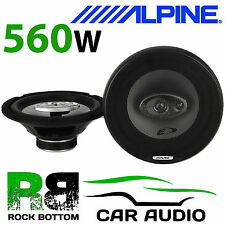 "ALPINE SXE-2035E - 8"" 20cm 3 way 560 Watts Car & Van Audio Coaxial Speakers"