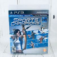 Sports Champion Playstion Move Required Playstation 3 PS3 Video Game Complete