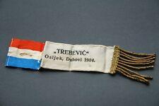 Rare sign Hrvatsko drustvo Trebevic pre Ndh Ww2 Croatian Hrvatska