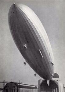 HINDENBERG~LZ 129 erster AUFSTIEG am 4 MARZ 1936~AIRCRAFT POSTCARD