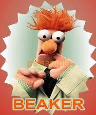 Muppets - BEAKER - Sesame St - Travel Souvenir Flexible Fridge Magnet