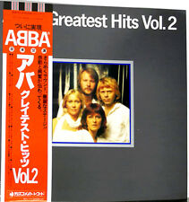 "ABBA ""Greatest Hits 2"" rare 1979 Japan original Lp w/Obi/lyrics Bjorn Benny"