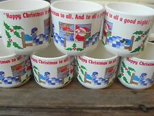Melmac Melamine Christmas Vintage Hot Cocoa Cup Plastic Mug Anacapa 1987 CL