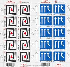 EUROPA CEPT 2006 INTEGRATION - ISLAND ICELAND 1133-34 KLEINBOGEN **