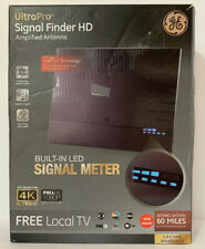 GE 60-Mile Signal Finder HD TV Antenna with Built-In Amplifier - Open Box