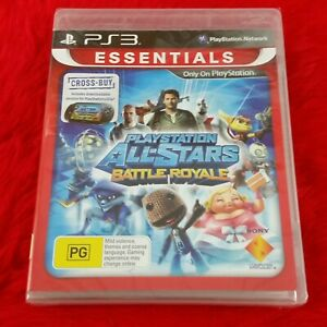 ps3 PLAYSTATION ALL-STARS BATTLE ROYALE Game NEW & Sealed REGION FREE PAL UK
