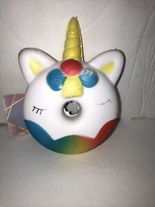 """JUMBOW Cute 5"""" """" UNICRON """" Slow Rising Squishes Scented TOY Tagged"""