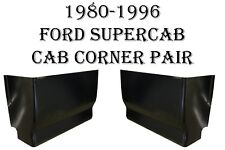 1980 1981- 1996 Ford Extended Super Cab Corner Set  F150  F250  F350 Truck Pair