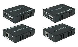 4K High Speed HDMI Extender über CAT-5e/6 HDBaseT Technologie 4Kx2K