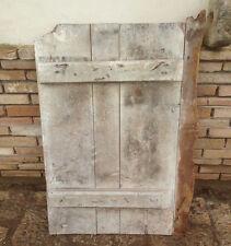 antico sportello finestra porticina o anta dispensa in legno massello fine 800