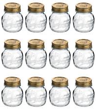 Bormioli 12 barattoli conserve Quattro Stagioni ERMETICO 250 ml COPERCHIO inclus