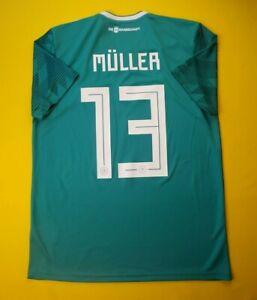 Muller Germany jersey medium 2018 away shirt BR3144 Adidas soccer ig93