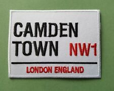 MOD SKA SCOOTER SEW ON / IRON ON PATCH:- PATCH No 1252 CAMDEN TOWN NW1 LONDON
