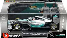 Lewis Hamilton F1 MERCEDES 1:32 modèle de formule 1 voiture de course die cast metal