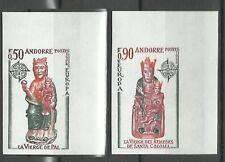 Andorre Andorra Europa Vierges Virgins Non Denteles Imperfs Proofs ** 1974 160€