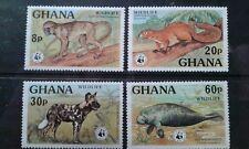 Ghana #621-24 MNH WWF e1911.5382
