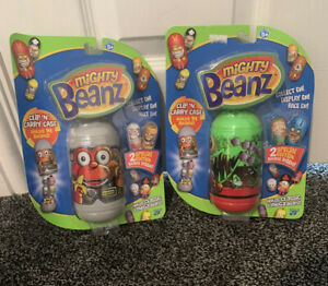 Mighty Beanz Clip N Carry Cases With Special Editions Holds 14 Beanz NEW