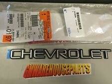 1999-2006 SILVERADO CHEVROLET TAILGATE EMBLEM NEW GM # 15126056