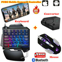 PUBG Mobile Gamepad Controller Gaming Keyboard Mouse Converter For  IOS Andorid