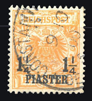 GERMANY LEVANT OFFICE IN TURKEY Mi # 9 a Used VF