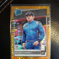 2021 Donruss Racing Bayley Currey Optic Orange Pulsar Rated Rookie # 12