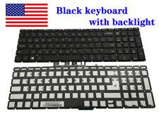 For Hp Black Keyboard 15-bw011dx 15-bw011wm 15-bw017cl 15-bw078cl Laptop Backlit