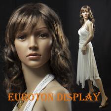 SF-4 Eurotondisplay Schaufensterpuppe mit 2 Perücke gratis  weiblich beweglich