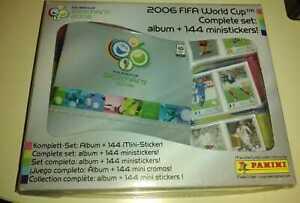 Panini World Cup Germany 2006 -  ALBUM + SET MINI STICKER SEALED RONALDO MESSI