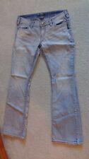 Women's SILVER JEANS Low Rise Flap Pocket Pioneer Boot Stretch Jean Size 31 x 33