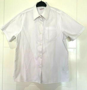 M&S Girls School White Shirt Size 10 - 11 Years
