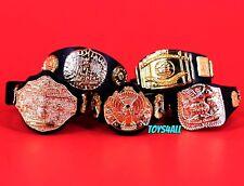 WWE Jakks Championship Belts Lot Wrestling Figure Accessory IC Tag Winged_s62