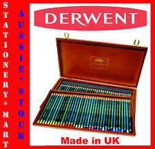 DERWENT ARTISTS◉72 BLENDABLE COLOUR PENCILS◉WOODEN SET◉ART◉CRAFT◉DRAWING◉R32089