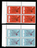 Ireland Stamps # 204-5 VF OG NH Set of 2 Block 4 Scott Value $104.00