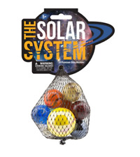 OFFICIAL Mega Marbles The Solar System Interactive Marble Set